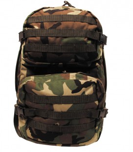 40 LTR. ASSAULT II WOODLAND RUGZAK