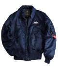 CWU 45 REP. BLUE AUTHENTIC FLIGHT JACKET   ALPHA INDUSTRIES