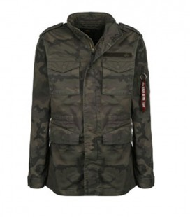 HUNTINGTON  DARK OLIVE CAMO  M 65 JACKET