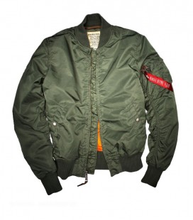 MA1 VF-59 SLIMVIT FLIGHT/BOMBER JACKET SAGE