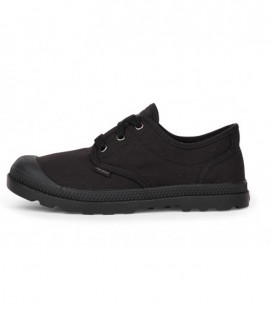 PALLADIUM HEREN Pampa Low Oxford Canvas Black.