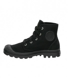 PALLADIUM PAMPA HIGH CANVAS ZWART