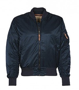 MA1 VF-59  MENS SLIMVIT FLIGHT/BOMBER JACKET REP BLUE