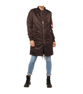 MA 1  COAT PM WMN ALPHA INDUSTRIES  VINTAGE BROWN