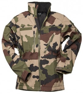 SCU CAMO SOFTSHELL JACKET
