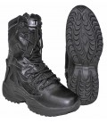 TACTICAL BOOTS THINSULATE ZWART  SIDE ZIPP