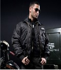 X/FORCE ZWART JACKET ALPHA INDUSTRIES 2 IN 1 JAS MET BODYWARMER
