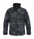 SOFTSHELL JACK SCU BLACK CAMO/ NIGHT CAMO