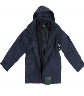 PARKA COLD WEATHER  NAVY BLUE 3 IN 1 PARKA