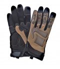 TACTICAL GLOVES COYOTE MET TPR RUBBER