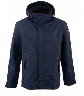 XENIOS NAVY CASUAL HEREN REGEN JACK ADEMEND WATERDICHT WINDDICHT