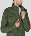 ALPHA INDUSTRIES HUNTINGTON M65  JACKET DARK  OLIVE