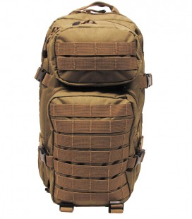"BACKPACK ASSAULT 1"" COYOTE TAN 30 LTR"