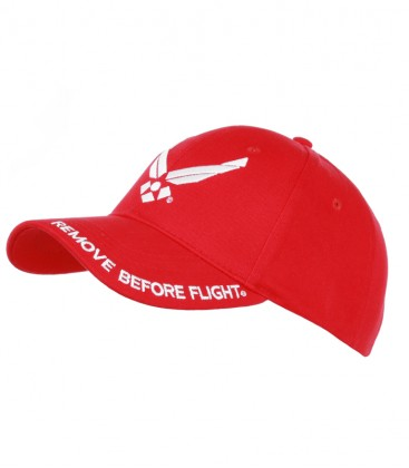 BASEBALL CAP REMOVE BEFORE FLIGHT ROOD