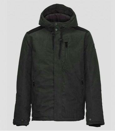 FRINGO CASUAL FUNCTION JACKET  GROEN/ANTRACIET