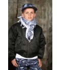 MA 1 KINDER BOMBER /FLIGHT JACKET ZWART