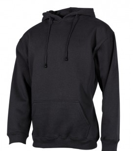 HOODED SWEATSHIRT ZWART 340 G/M²