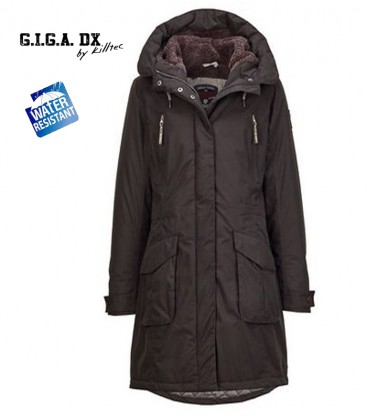 MAWOTA  CASUAL FUNKTION PARKA ZWART G.I.G.A. BY KILLTEC