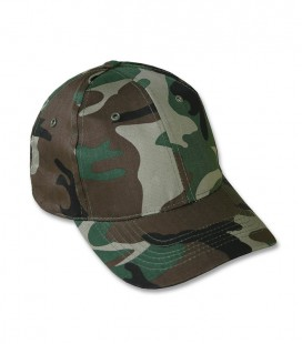 KIDS BASEBALL CAP WOODLAND