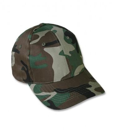 KIDS BASEBALL CAP WOODLAND