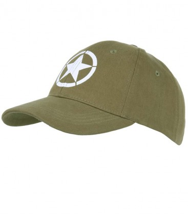 BASEBALL CAP ALLIED STAR GROEN