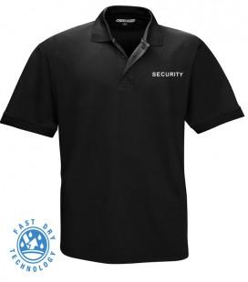 SECURITY POLO SHIRT QUICK DRY ZWART