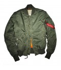 MA1 VF-59 SAGE SLIMVIT MENS FLIGHT/BOMBER JACKET  ALPHA INDUSTRIES
