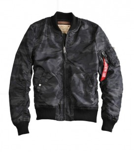 ALPHA INDUSTRIES MA - 1 TT JACK BLACK CAMO