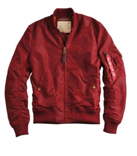 ALPHA INDUSTRIES MA - TT JACK BURGUNDY