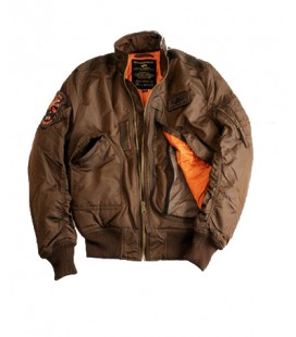 ALPHA INDUSTRIES CWU ENGINE - BROWN