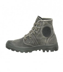 PALLADIUM PALLABROUSE CANVAS SCHOEN METAL BLACK
