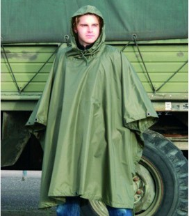 REGEN PONCHO RIPSTOP ARMY OLIVE