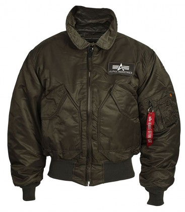CWU 45 AUTHENTIC  FLIGHT JACKET ALPHA INDUSTRIES
