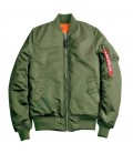 MA1 SF  SAGE WMS FLIGHT JACKET /BOMBER  ALPHA INDUSTRIES