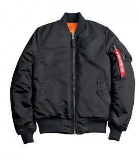MA - SF WMN FLIGHT JACKET/BOMBER BLACK