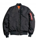 MA - SF BLACK WMN FLIGHT JACKET/BOMBER ALPHA INDUSTRIES