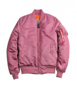 MA- 1 SF WMS FLIGHT JACKET/BOMBER ALPHA INDUSTRIES DUSTY PINK