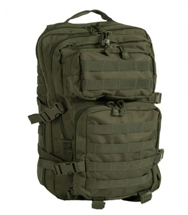US ASSAULT PACK RUGZAK OLIVE 20 LITER