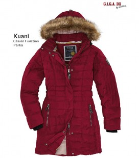 KILLTEC KUANI DAMES PARKA BORDEAUX
