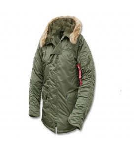 ALPHA INDUSTRIES GENUINE PARKA SAGE