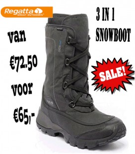 MENS SNOWPAKMAN HEREN 3 IN 1 BOOT
