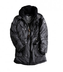 ALPHA INDUSTRIES COBBS WOMANS ZWART