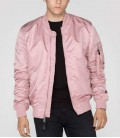 MA-1 VF LW  SILVER PINK JACKET/ BOMBER  ALPHA INDUSTRIES