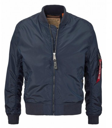 MA 1 TT  ALPHA INDUSTRIES FLIGHT JACKET REP BLUE